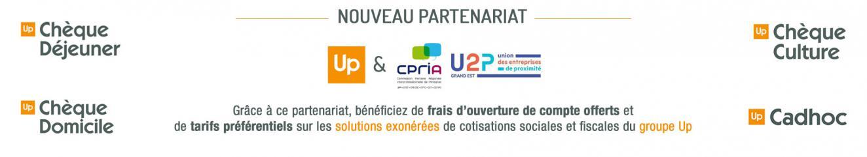 partenariat Groupe UP et CPRIA - U2P Grand Est
